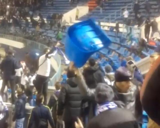 «Факел» обыграл «Динамо» вматче 17-го тура главенства ФНЛ, прерванном из-за болельщиков