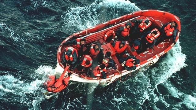утонувшее рыболовное судно